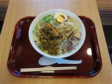 九州道上り山江SA 阿蘇高菜ラーメン770円