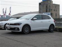 春のイメージチェンジ..VW AW POLO OZ rally racing