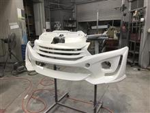 S660 フロントバンパー FRP 修理塗装 愛知県豊田市 倉地塗装 KRC