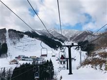 神立高原でトレーラー泊スキー