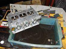 CR22S パワーアップ計画⑥ ヘッドOH編 パーツ洗浄