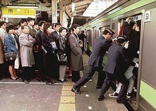 満員 電車 怖い