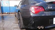 ロードからのZ4洗車