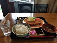 仕事帰りに松阪にて味噌カツ定食を愉しむ