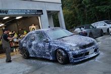 いきなりBBQを終えys special ver.2 施工済みBMW320iMスポ洗車を開始です^^