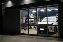 アルファード executive lounge ys special ver.2 2層目のガラス被膜の塗り込み完了です^^