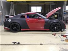 R35 GTR ワイドボディー化計画