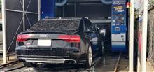 S8の洗車