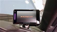 エスフェリックレンズの配置が重要。レーザー&レーダー探知機「ユピテルGS203」を装着。そして超コンパクトかつ高機能な前後カメラドラレコも!!