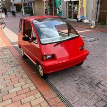 東京下町のスーパーカー