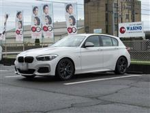 トータルアライメント調整..BMW F20 140 更にCpm装着