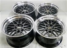 BBS-LM19インチ2Ps&3Psハイパー塗装(黒中間色)DBK-P(DB-SLD)&パウダーコート