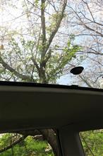 代車の車窓から
