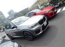 X3/X4 M Competition test ride @ BMW GROUP Tokyo Bay