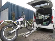 Nバンにバイクを載せちゃうシリーズ その④ TLM220R 編