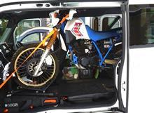 Nバンにバイクを載せちゃうシリーズ 最終回 XT250T 編