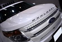 ゆとりあるサイズ!フォード・エクスプローラーのガラスコーティング【リボルト姫路】