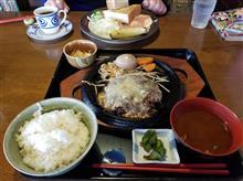 松阪にて朝からジャンボチーズハンバーグを愉しむ