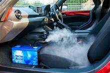愛車の除菌・消臭に「バクロン」&「ビーパワー」を試してみたら、家庭でも使えてとっても便利だった【PR】