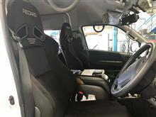 """運転席・助手席ともに""""RECARO SR-7F""""を装着!!より楽しく快適に移動したいと思ったら、こんなクルマに左右お揃いもアリですね〜"""