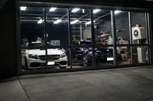 御入庫頂いてますE63s AMG 磨き作業を開始です^^