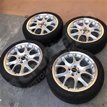 MINIクラブマンR55純正品 USEDタイヤ&ホイール4本セット
