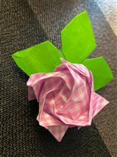 バラの折り紙
