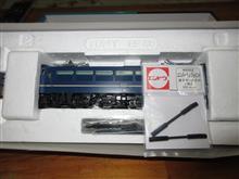 TOMIXのHO EF66の修理完了の巻っき~