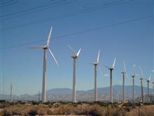 パームスプリングスの風車群