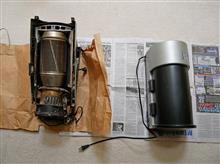 珈琲ロースター(焙煎機)の修理
