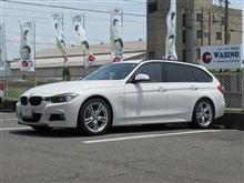 快適に乗るために..BMW F31 320d エンジンオイル+タイヤ+ブレーキ交換