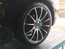 タイヤ接触⁉️