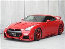 中期GTRのレッドカラーをトヨタスタジアムで撮影してきました!