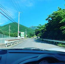 朝のドライブ
