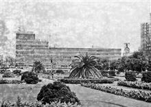 1966年4月の大阪天王寺駅前