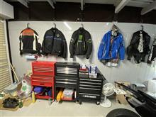 やや隠れ家的ガレージ通い😸生理整頓 2