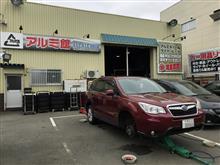 フォレスターのタイヤ交換(ALENZA001 → 新品PROXES CF2 SUV)
