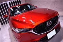 今は定番となった色もこの車から!マツダ・CX-5のガラスコーティング【リボルト姫路】