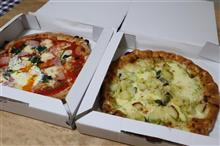薪窯ピザをテイクアウト・・・サナーレ