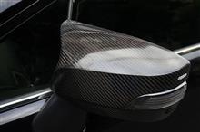 スバル WRX STI/S4, レヴォーグ, XV(型式:GP)用ドライカーボン製ミラーカバーMルック仕様販売間近!