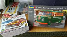 【プラモデル】VW T1 Kastenwagen/panel van