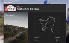 WRC 8 ポルトガル Fafe逆走 QuickPlayで9勝目