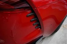 トヨタスープラ用ドライカーボン製リアダクトカバー 予約販売開始!