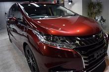 「新車でも下地処理」ホンダ オデッセイのガラスコーティング【リボルト神戸】