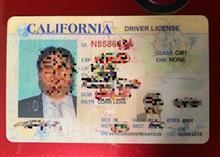 カリフォルニア州の運転免許証の更新案内