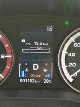 慣らし運転燃費