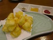クリームチーズの天ぷら