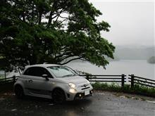 豪雨の影響で試乗コースが崩壊・・・   orz