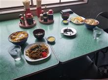 トラック運転手の友人と馴染みのレトロ食堂にてプチオフ会