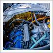 【ビート】燃料タンク遮熱板、フューエルホースにDEi REFLECT-A-GOLD施工